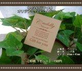 【ASHIATOYA】オリジナルGSCuddlyカード(ベージュ)