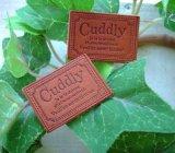 【卸・受注生産】[24×34]革・リベットCuddly(チョコ茶)50枚
