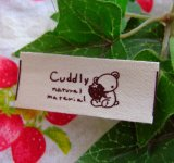 【HAPPY!】[20×50]綿平・いちごとくま柄Cuddly