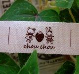 【HAPPY!】[20×40]綿平・うさぎとくまさんのいちご柄chouchou
